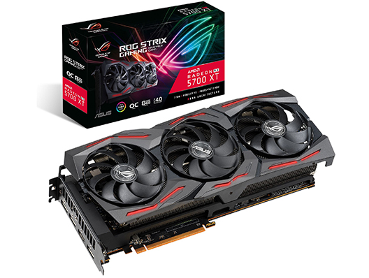 ASUS Grafikkarte ROG STRIX Radeon RX5700 XT O8G-GAMING