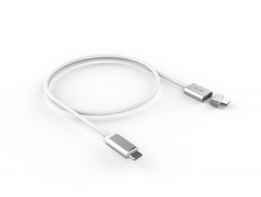 LMP Magnetic Safety Kabel 1.8 m - Silber