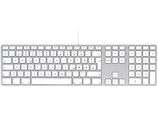 LMP USB Tastatur mit Zahlenblock DE Layout