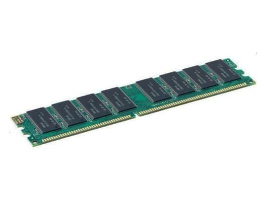 1 GB DDR 400 PC-3200 SDRAM (ECC)