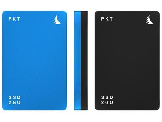 Angelbird SSD2go PKT 512GB USB-C Festplatte Schwarz-Blau