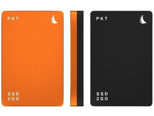 Angelbird SSD2go PKT 512GB USB-C Festplatte Schwarz-Orange