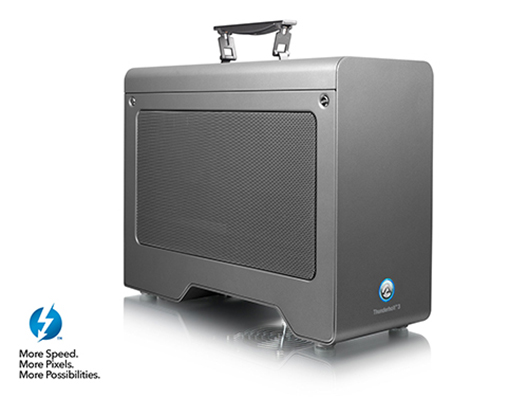 AKiTiO Node Pro - Thunderbolt 3 PCIe Expansion Chassis