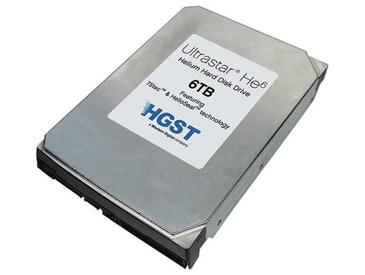 "HGST 6TB Ultrastar He6 Server Edition 7200 3.5"" Harddisk"