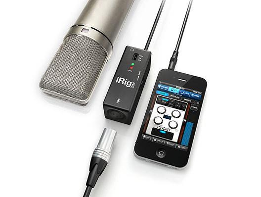 IK Multimedia iRig PRE, Mikrofon Interface iOS Geräte