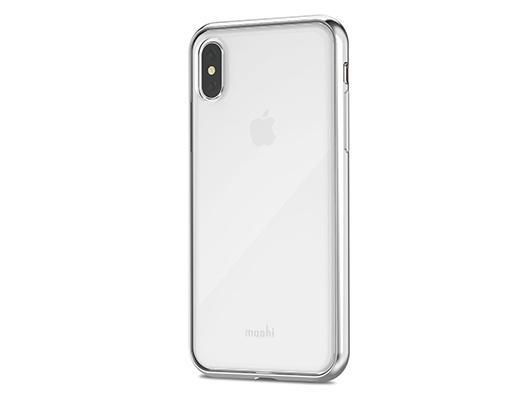 Moshi Vitros iPhone X - Jet Silver