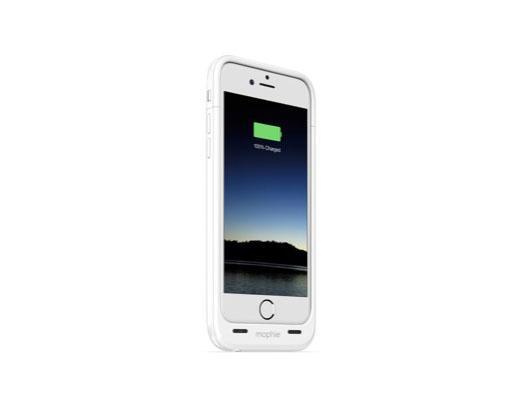 Mophie JuicePack Air - Hardcase mit Akku (2750mAh) für iPhone 6/6S - Weiss