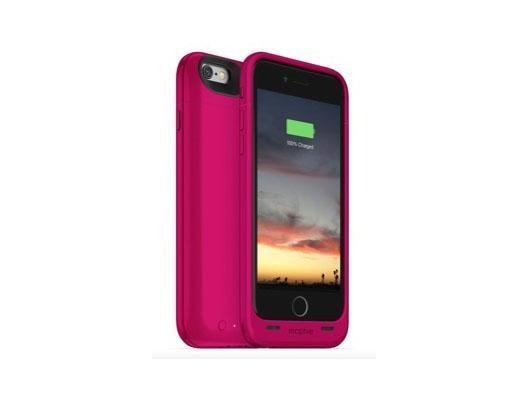 Mophie JuicePack Air - Hardcase mit Akku (2750mAh) für iPhone 6/6S - Pink