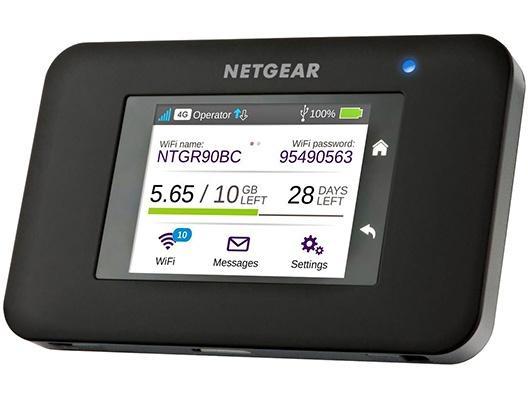 Netgear AC790 Mobile WLAN Router + DC112A: Ladestation