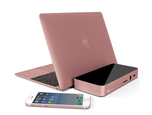 OWC USB-C 10 Port Dock mDP Rose Gold