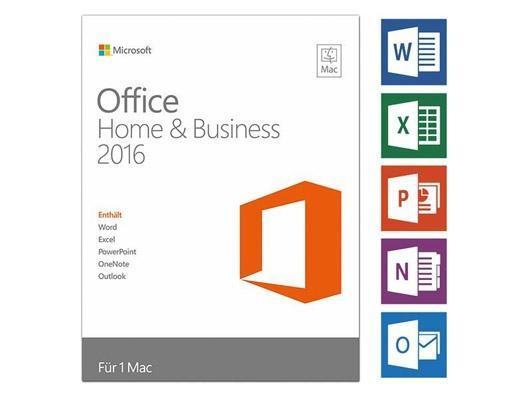 Microsoft Office 2016 Mac ESD Home & Business DE