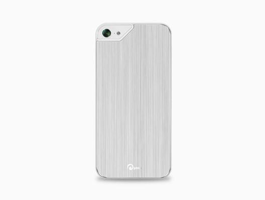 Pinlo Concize Metal Aluminium Schutzhülle iPhone 5/5S - Weiss