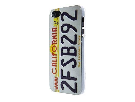 SKILLFWD Car Plate Hard Case iPhone 5/5S/SE - California White