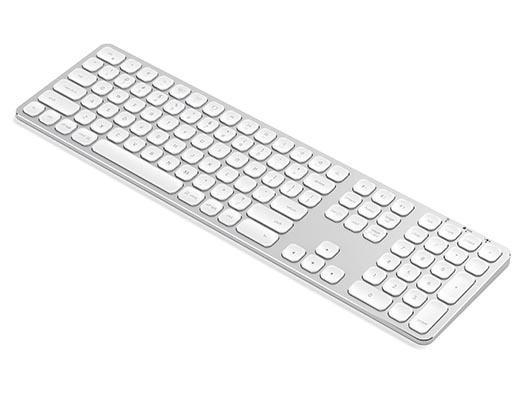 Satechi Multisync BT Keyboard - Silber  Weiss