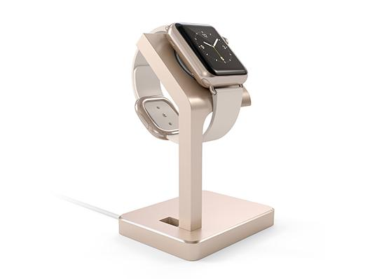 Satechi Apple Watch Charging Stand - Gold