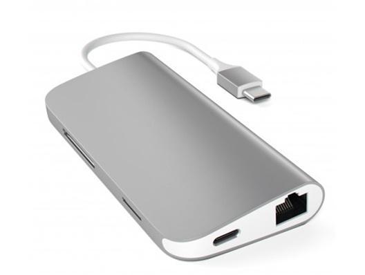 Satechi USB-C Aluminium Multiport Adapter - Space Gray