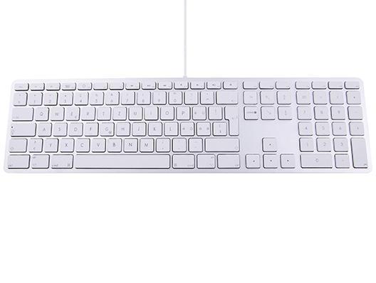LMP USB Tastatur mit Zahlenblock CH
