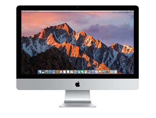 "Apple iMac 27"" 5K Display QC i7 4.2GHz 64GB 512GB PCIe Flash SSD"