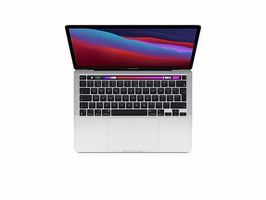 """Apple Macbook Pro 13"""" M1 8‑Core CPU 8‑Core GPU 16GB 2 TB Silber"""