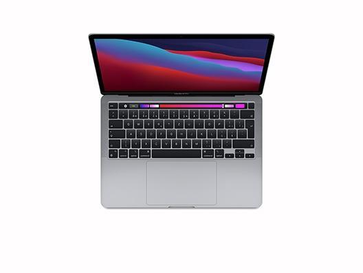 """Apple Macbook Pro 13"""" M1 8‑Core CPU 8‑Core GPU 16GB 2 TB Space Grau"""