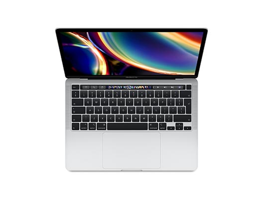 "Apple Macbook Pro 13"" 1.4 GHz i5 QC 512GB SSD ToucbBar Silber"