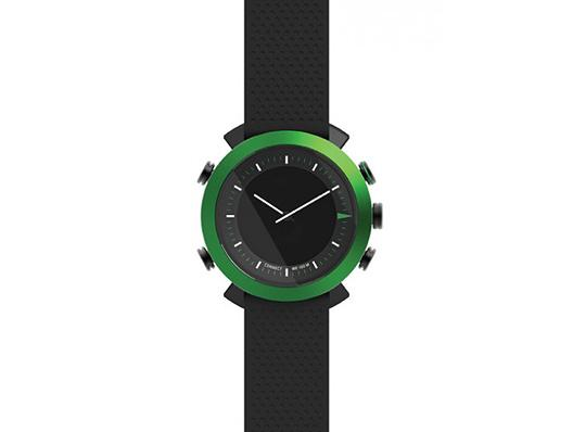 Cogito Classic - Grün - Wasserdichte Smartwatch iPhone, iPad, iPod touch