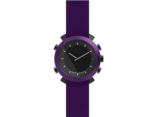 Cogito Classic - Violett - Wasserdichte Smartwatch iPhone, iPad, iPod touch