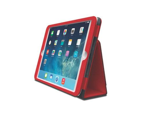 Kensington Comercio Soft Folio Case & Stand für iPad Air - Rot