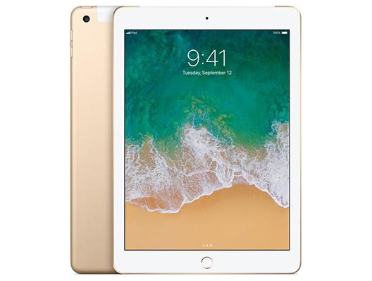 Apple iPad Wifi + Cellular 128 GB Gold
