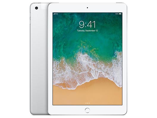 Apple iPad Wifi + Cellular 128 GB Silber