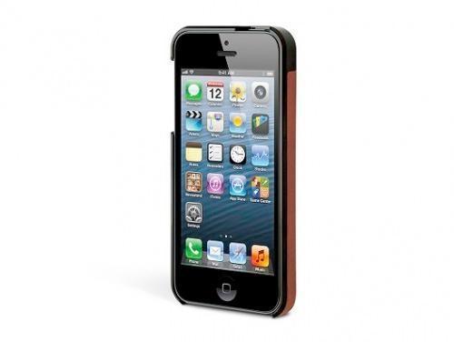Kensington Vesto Case Leder iPhone 5/5S/SE - Braun