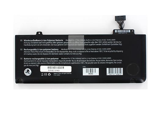 "LMP Batterie MacBook Pro 13"" Alu - Li-Ion Polymer - A1322"