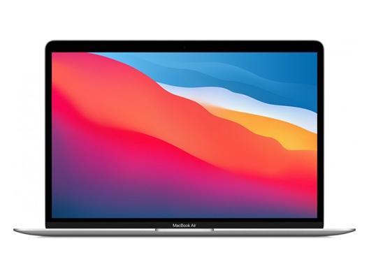 """Apple MacBook Air 13"""" M1 Chip 8‑Core CPU 8‑Core GPU 512 GB Silber"""