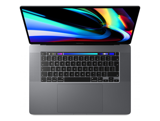 "Apple MacBook Pro 16"" 2.3 GHz 8‑Core i7 16GB 1TB Pro 5500M - Space Grau"