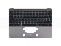"Top Case MacBook 12"" Retina (2016/17) Space Grau"