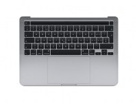 "TopCase komplett MacBook Pro 13"" Retina - A1706 (2016/17) Space Grau"