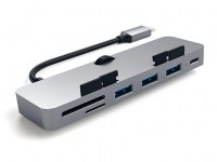 Satechi USB-C Clamp Hub Pro - Space Grau