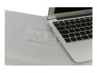 "Tucano Second Skin NEW Elements für MacBook Air 13"" 2G - Silber"